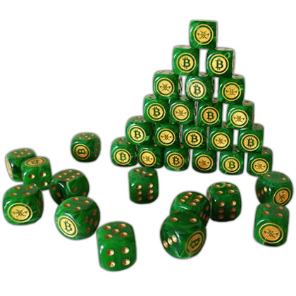 Green Cryptopods Dice