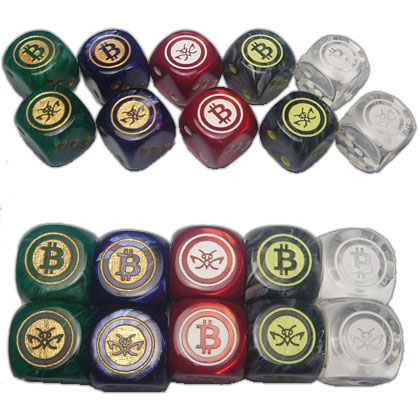 Cryptopods Dice