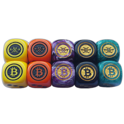 New Styles of Cryptopods Dice